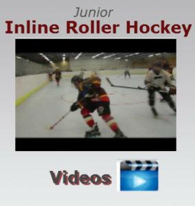 junior roller hockey video